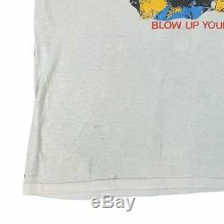 Vintage ACDC Blow Up Your Video T-Shirt 1980's Guns N' Roses Rolling Stones