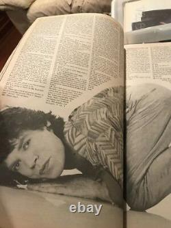 Vintage Andy Warhol Interview Magazine February 1985 Mick Jagger Rolling Stones