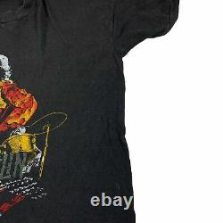Vintage Led Zeppelin'1977 Tour T-Shirt Rock 70's Pink Floyd Rolling Stones