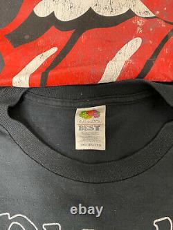 Vintage Music Tour T shirt REPRINTS Lot Of 22 AC/DC Iron Maiden Rolling Stones