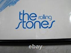Vintage Original Rare The Rolling Stones Framed Poster