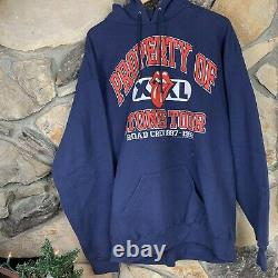 Vintage Property of Rolling Stones Tour Hoodie 1997-1998 Size XL Tongue Crew