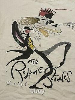 Vintage Rare 1994 Gerald Scarfe THE ROLLING STONES Voodoo Lounge Tee Shirt