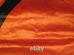 Vintage Rolling Stones 1983 Musidor Satin Concert Banner Original 45x50 Flag