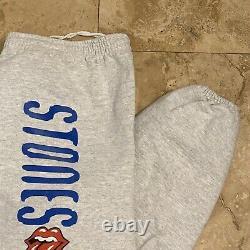 Vintage Rolling Stones 1994 Tour Sweatpants Size XL Rock Music