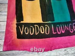 Vintage Rolling Stones 1994 VooDoo Lounge Tie Dye T Shirt Mens XL Single Stitch
