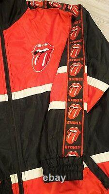 Vintage Rolling Stones Bridges to Babylon Tour Windbreaker Jacket ULTRA RARE