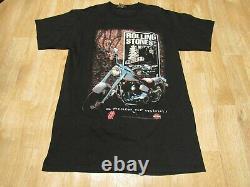 Vintage Rolling Stones Harley Davidson Shirt Voodoo Lounge 1990s 90s Large
