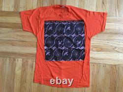 Vintage Rolling Stones Steel Wheels Crew'89 T Shirt North American Tour Tee XL