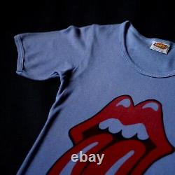 Vintage Rolling Stones T Shirt Tour Rare VTG 1970s 70s Rock S Original