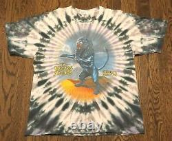Vintage Rolling Stones T Shirt XL Bridges To Babylon Tour 97/98 Classic Rock