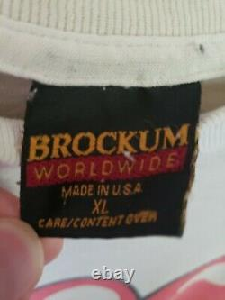 Vintage Rolling Stones Voodoo Lounge Tour 1994 T-shirt White Size XL Brockum