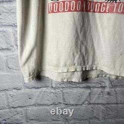 Vintage Rolling Stones Voodoo Lounge Tour T Shirt Brockum Size L