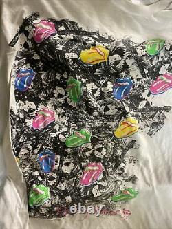 Vintage T-Shirt Rolling Stones Promotour tour 1989 Mens 3XL Rare