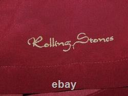 Vintage THE ROLLING STONES MADE IN THE SHADE LP Dragonfly Button Dress Shirt XXL