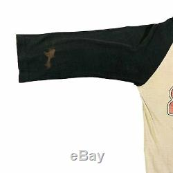 Vintage The Rolling Stones 81 Raglan T-Shirt Keith RIchards Guns N' Roses Rock