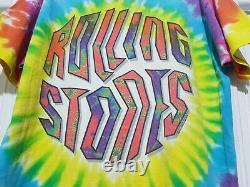 Vintage The Rolling Stones Liquid blue T shirt 1994 Single Stitch Made in USA
