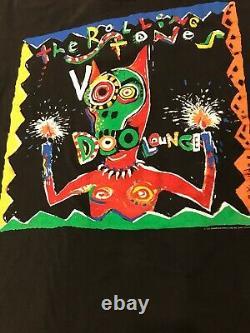 Vintage The Rolling Stones Voodoo Lounge 1994 Shirt Tour Boklunder Promo Concert
