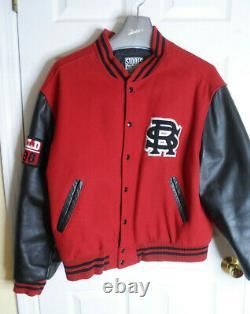 Vintage The Rolling Stones World 97/98 Bomber Varsity Letterman Jacket Mens XL