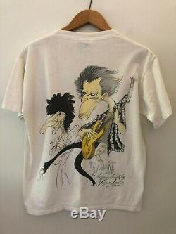 Vintage tshirt Rolling Stones Voodoo Lounge Rare Caricature T-shirt Brockhum L
