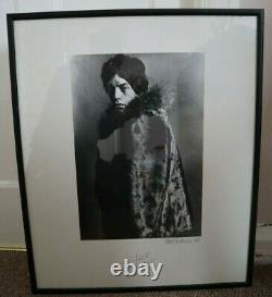 Vintage unseen photo Mick Jagger Eric Swayne London rare 1964 The Rolling Stones