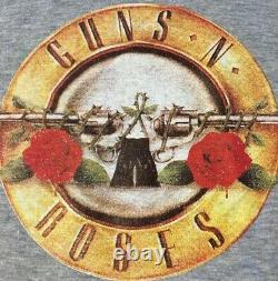 Vtg 80s Guns N Roses Lies Japan Promo Shirt L Nirvana ACDC Ramones Axl Rose