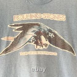 1975 Rolling Stones Vintage Tour Band Rock Shirt Années 70 1970