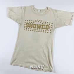 1978 Rolling Stones Showco Vintage Tour Rock Band 70s Shirt Led Zeppelin 1970