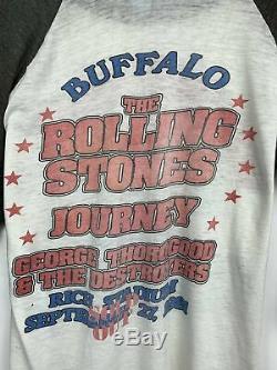 1981 Vintage Le T-shirt Rolling Stones