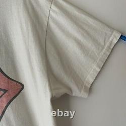 1989 Rolling Stones Guns N Roses Los Angeles Vintage Tour Band Rock Shirt 80s XL