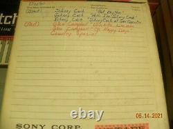61 Reel To Reel Tape Lot Vintage D'occasion Musique Enregistrée Led Zeppelin Rolling Stones