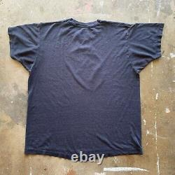 70s 80s Vintage De L'étone Rollante T-shirt Sz L Papier Direct