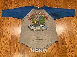 80 Vintage 1981 The Rolling Stones American Dragon Rock Concert Tour T-shirt XL