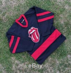 90 Vintage 1994 Bockrum Rolling Stones Hockey Jersey Grande Voodoo Visite Salon