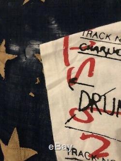 90 Vintage Les Rolling Stones 1994 Imprimer Partout Rock T-shirt XL Worhol Rare