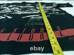 90 Vintage The Rolling Stones Voodoo Lounge All Over T-shirt Imprimé Tour