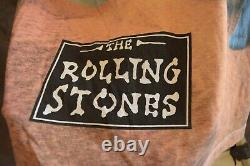 90's The Rolling Stones Bridges To Babylon All Over Imprimer T-shirt Vintage 1998