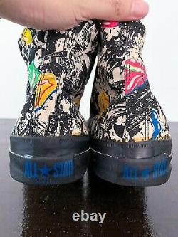 Chaussures De Toile De Vintage 70s Rolling Stones 80s Chemise Nirvana T Des Années 90