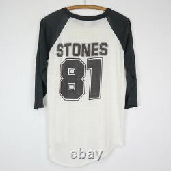 Chemise En Jersey Vintage 1981 Des Rolling Stones