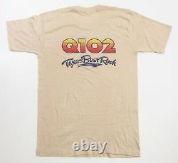 Chemise Rolling Stones Tshirt Security Concert Tour Tee Vintage Original Medium M Shirt
