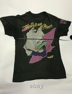 Chemise Vintage Rolling Stones 1989 North American Tour