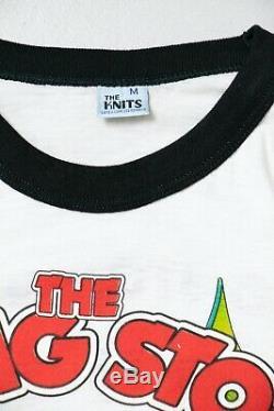 Concert Des Rolling Stones T-shirt 1981 Base-ball Roche T-shirt Les Petites Années 80