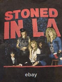 Guns N Roses Vtg Tour Shirt Crue Ozzy Halen Metallica Maiden Roling Stones La