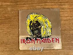 Iron Maiden Vintage Carnival Mirror Killers 6 X 6
