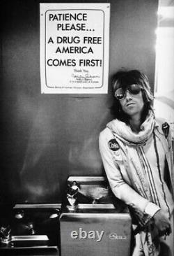 Keith Richards Style Veste Vintage Hommes M-l