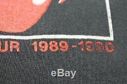 L Mince Des Années 80 Vtg 1989, Le Rolling Stones Toronto X Montréal Canada Tournée T-shirt