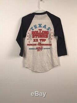La Chemise À Manches Rolling Stones Quart Avec Le Dragon Petit Vintage 1982 Anvil