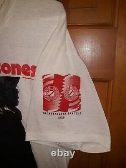 La Rolling Stones 1989 Sticky Fingers Steels Roues Chemise Rare Vintage XL