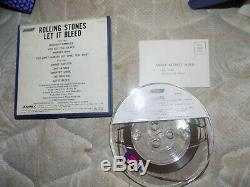 Les Rolling Stones, Let It Bleed, Reel To Reel Vintage Enregistrement Sur Bande, Grand