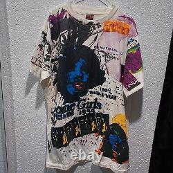 Les Rolling Stones Vintage T Shirt Dirty Work Some Girls XL Rare Réimpression Années 90